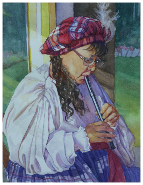 Jan Landini, Whimsical Whistler