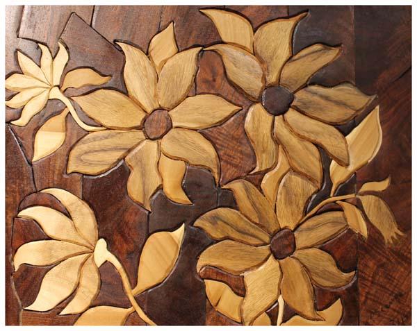Ted Scanga, Clematis Mosaic