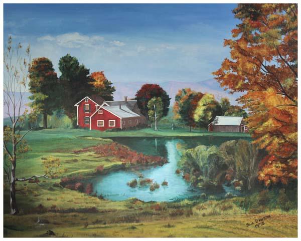 Sue Yaklich, Farm Pond