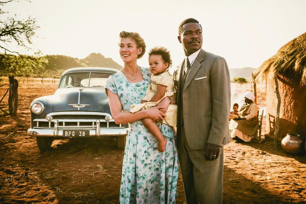 Image: Rosamund Pike and David Oyelowo in  A United Kingdom