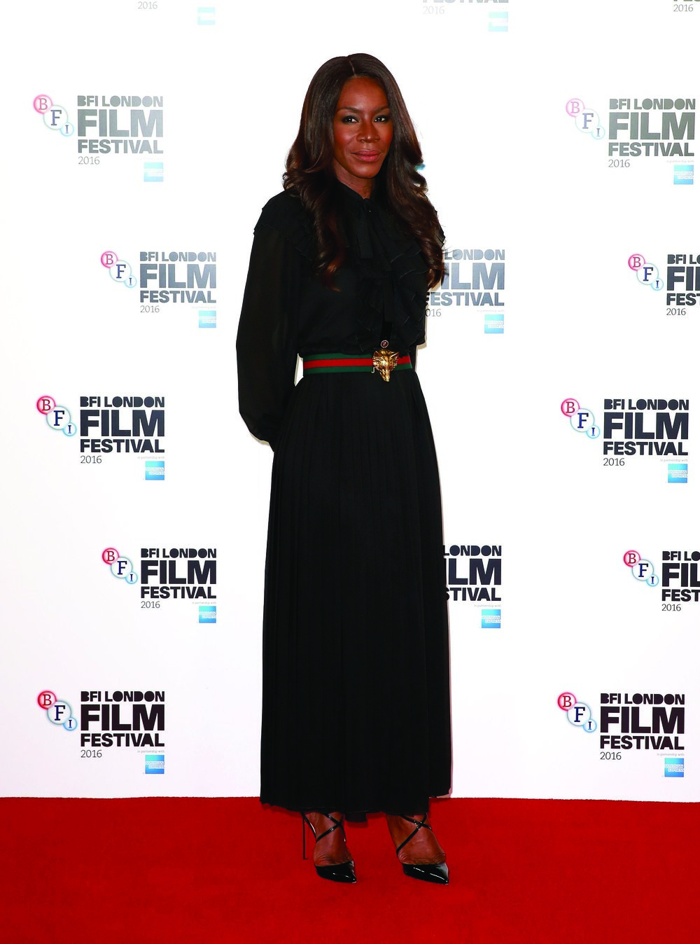 Image: Amma Asante at the BFI London Film Festival
