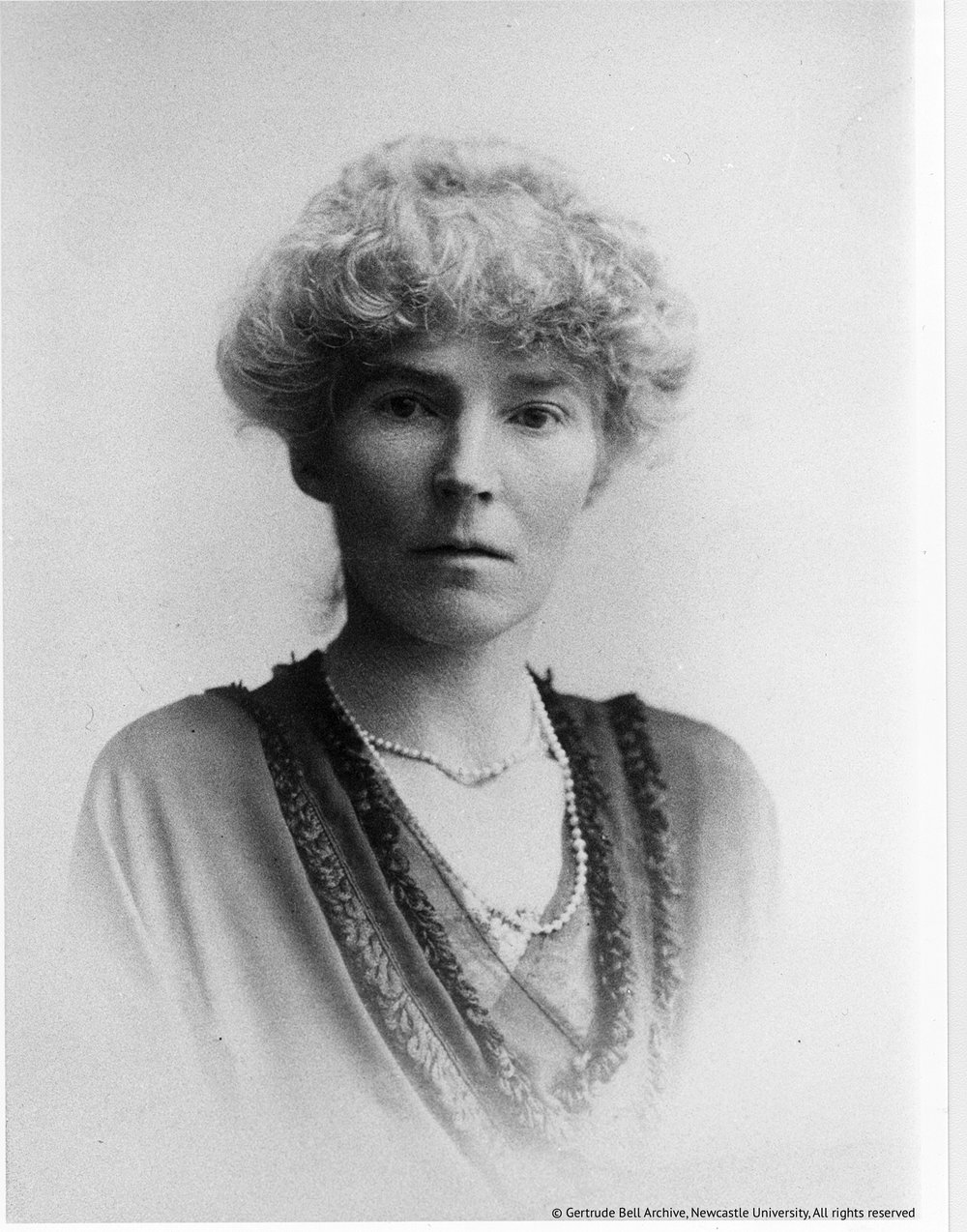Gertrude Bell in 1921. Courtesy Letters from Baghdad/Gertrude Bell Archive