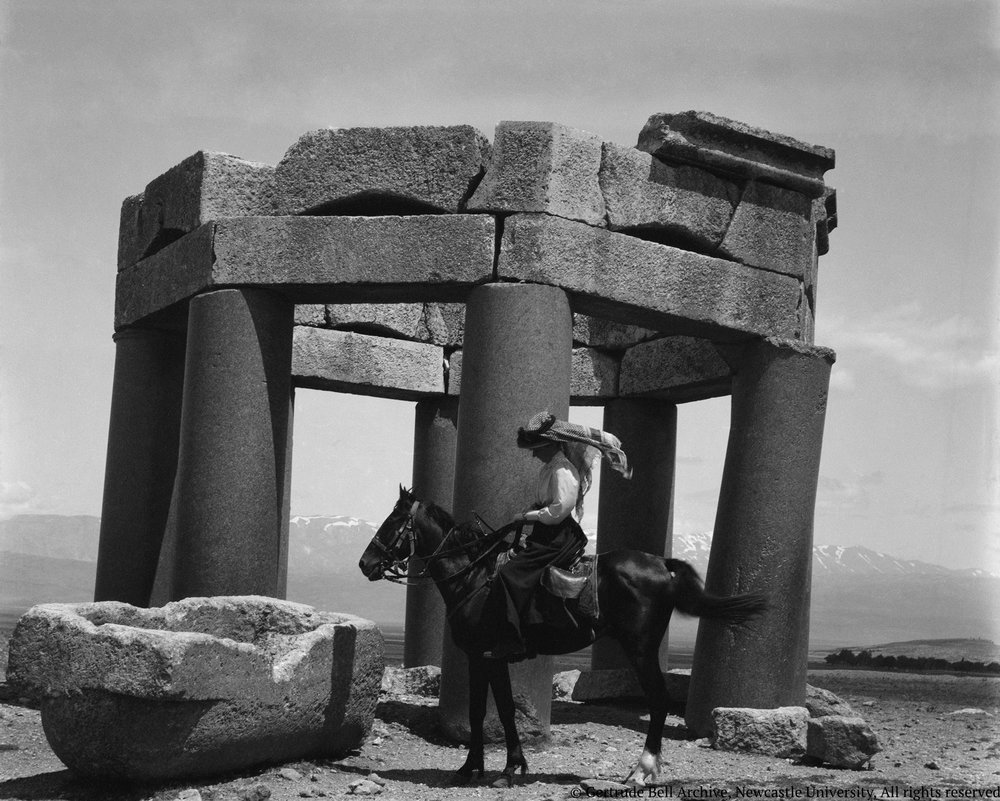 Gertrude Bell travelling in 1900