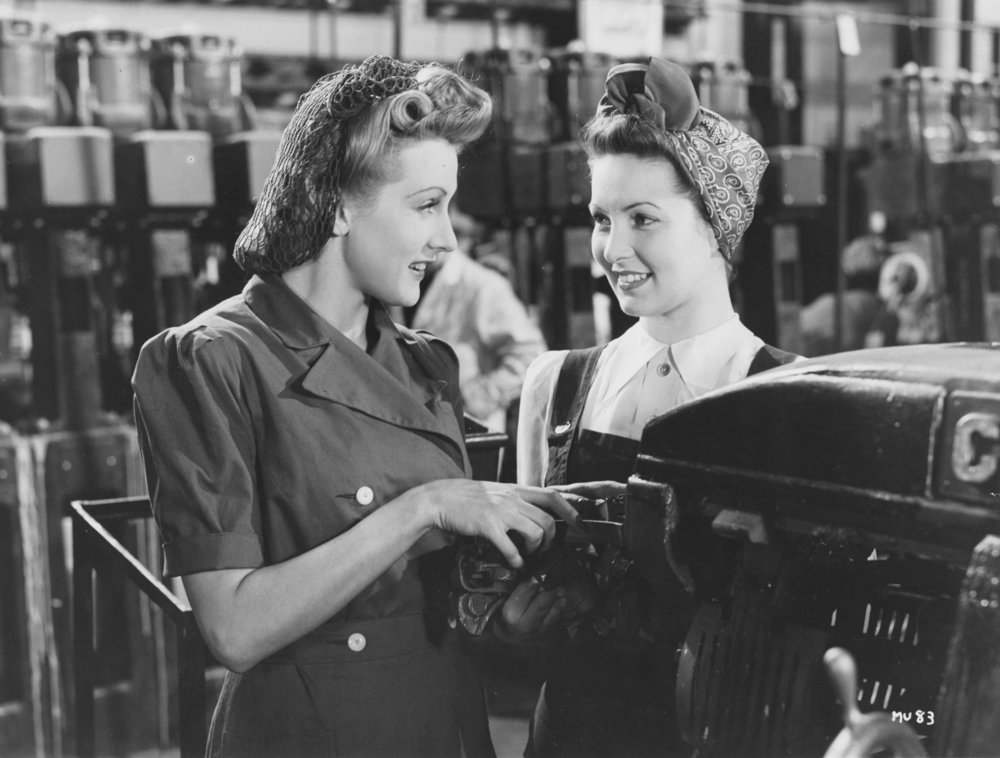 Millions Like Us (1943) part of the propaganda effort to get women into work, and part written by women