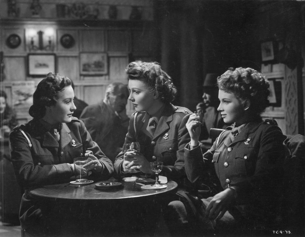 "The Gentle Sex  ( 1943) about seven girls who go off to ""do their bit"" for King and country"