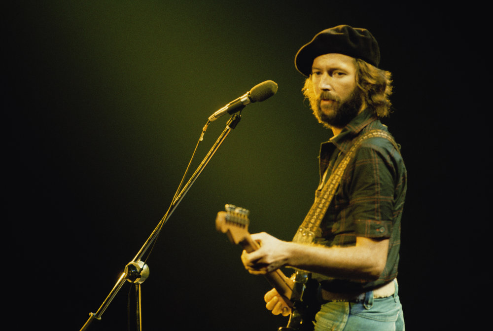 Eric Clapton: Courtesy Getty Images