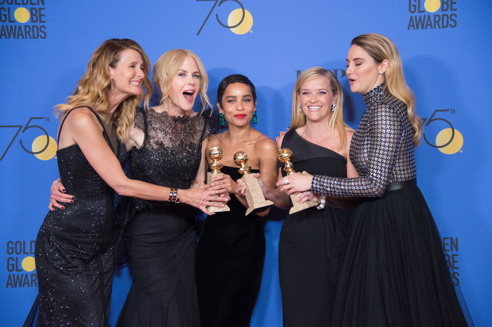 Golden Globe winners Big Little Lies: Courtesy HFPA