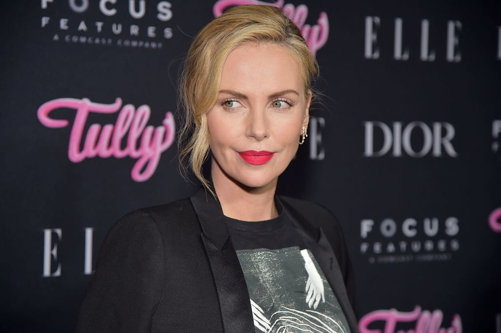 """Charlize Theron at """"Tully""""premiere CREDIT: GETTY IMAGES"""