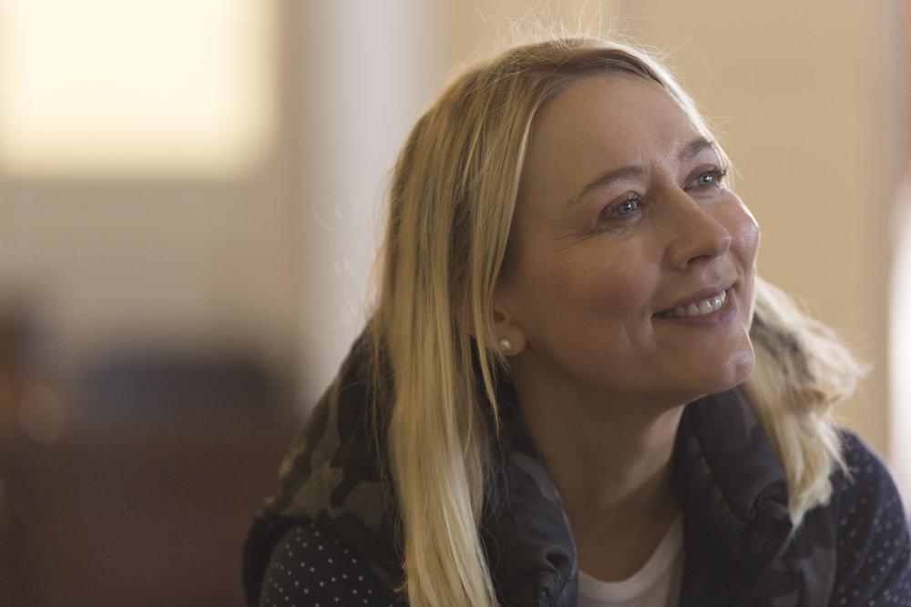Deborah Haywood, director of  Pin Cushion