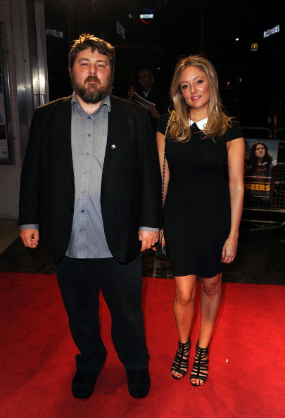 Claire Jones and director Ben Wheatley at the premiere of 'Sightseers' at the BFI London Film Festival. CREDIT: Getty Images