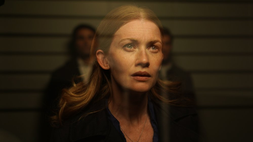 Mireille Enos in 'Never Here' CREDIT: Vertical Entertainment