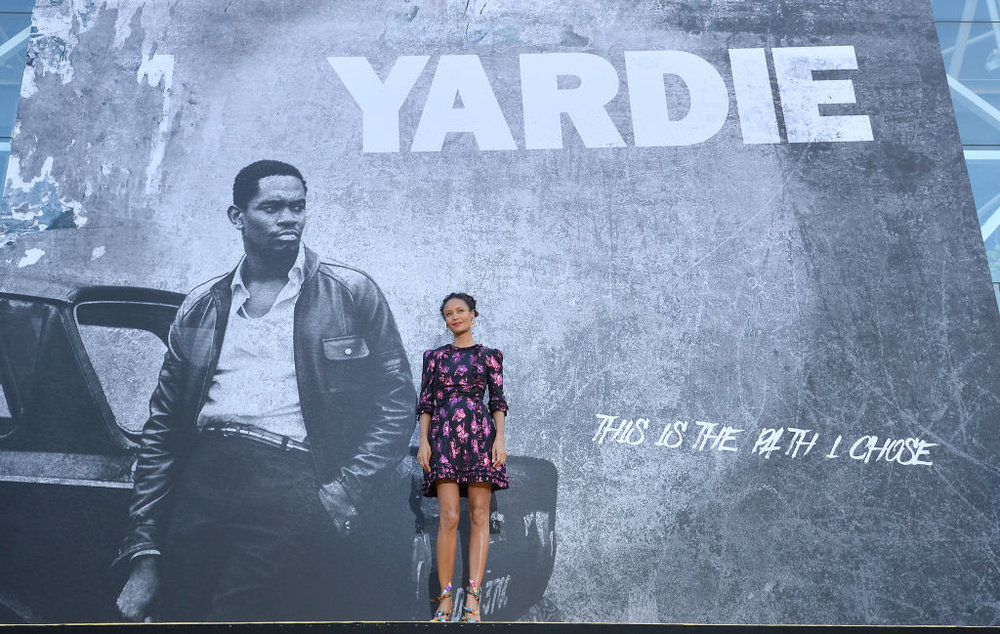 Thandie Newton attending the UK premiere of  Yardie,  the directing debut of Idris Elba. CREDIT: Getty Images