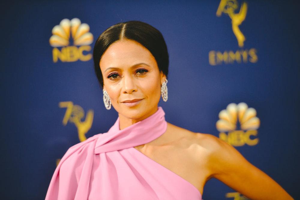 Thandie Newton: a recent Emmy winner for  Westworld. CREDIT: Getty