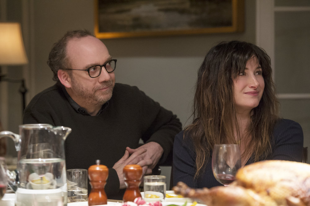 Kathryn Hahn and Paul Giamatti in Private Life. Courtesy Netflix