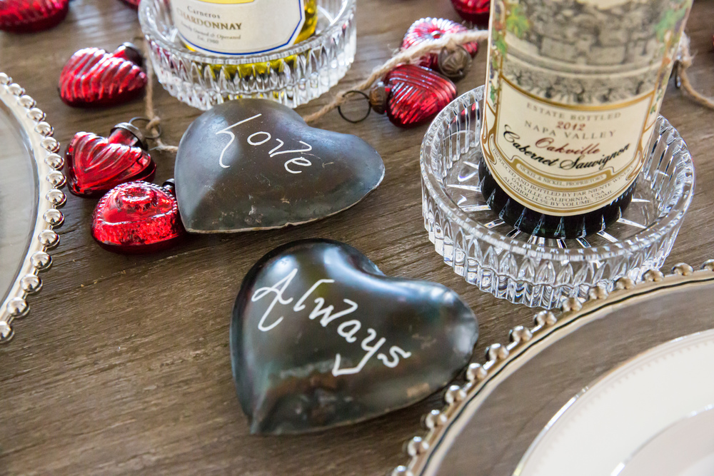 Valentine's Day Dining Table Decor