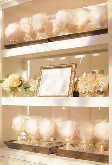 Cotton Display Inspiration from Pinterest for Girl Baby Shower