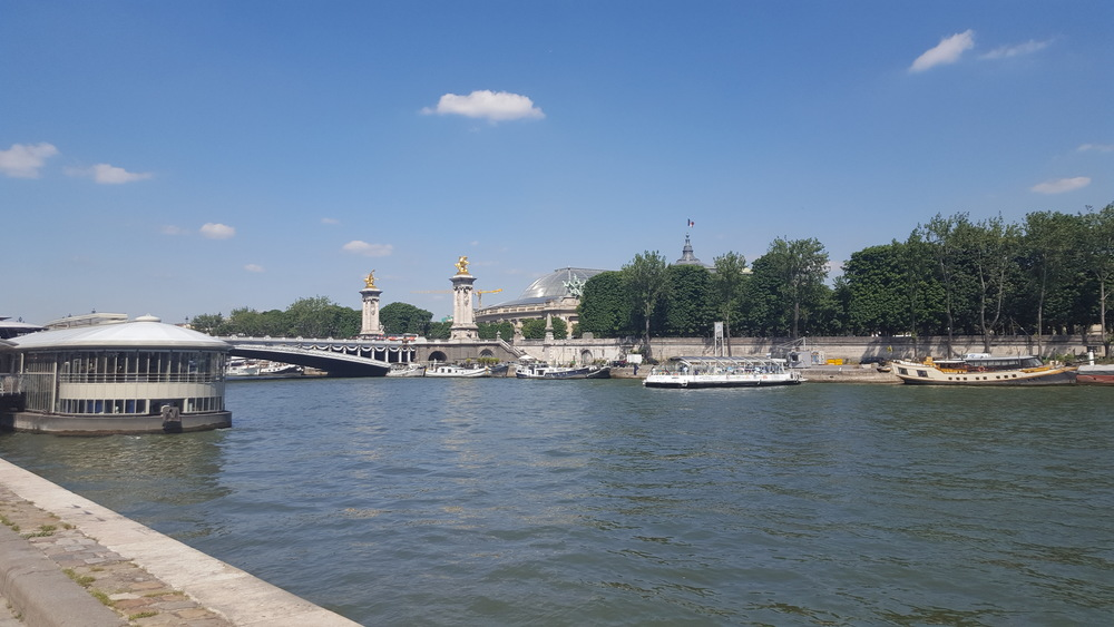 The River Seine, Paris, France