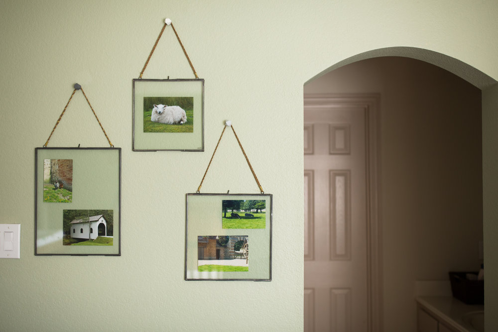 Hinged Hanging Viteri Frames from Anthropologie in Green Baby Boy Outdoor Theme Nursery