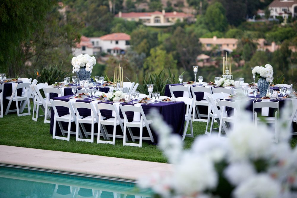 Blue and White Rancho Santa Fe Wedding - lifewithstyle.co