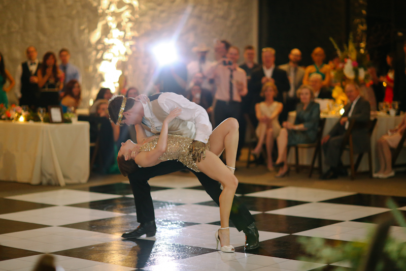 Surprise Bridie and Groom Dance Routine - Stonegate Mansion - Apryl Ann Photography - lifewithstyle.co