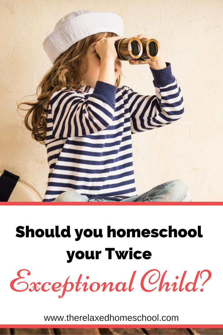 Great info at  http://therelaxedhomeschool.com/top-three-reasons-to-homeschool-your-twice-exceptional-middle-schooler/
