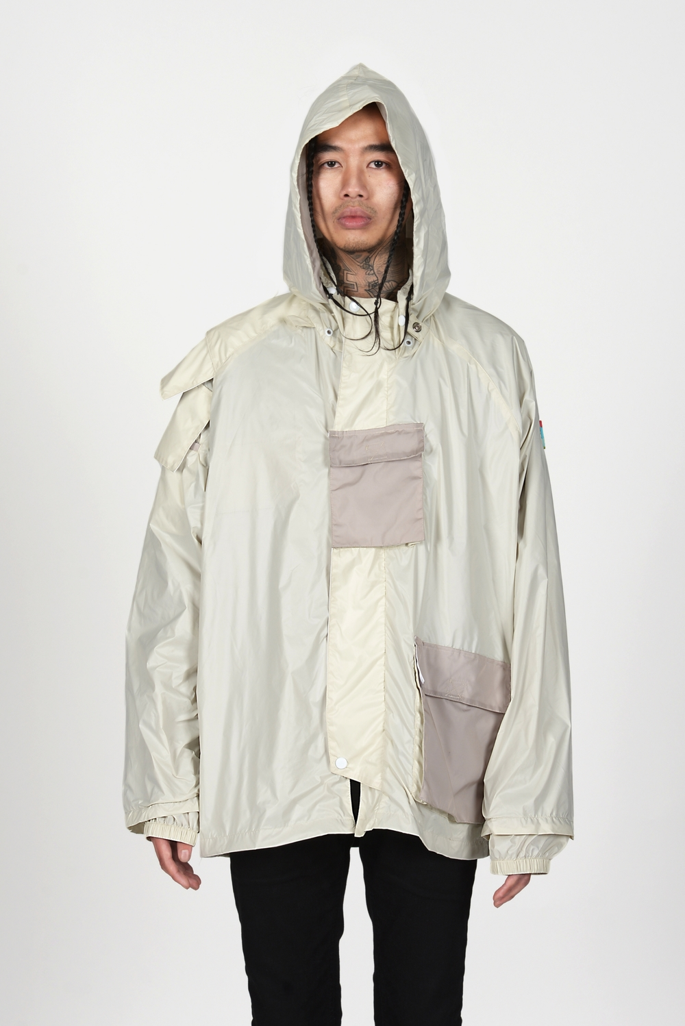07 Heightened Sense white rain coat.jpg