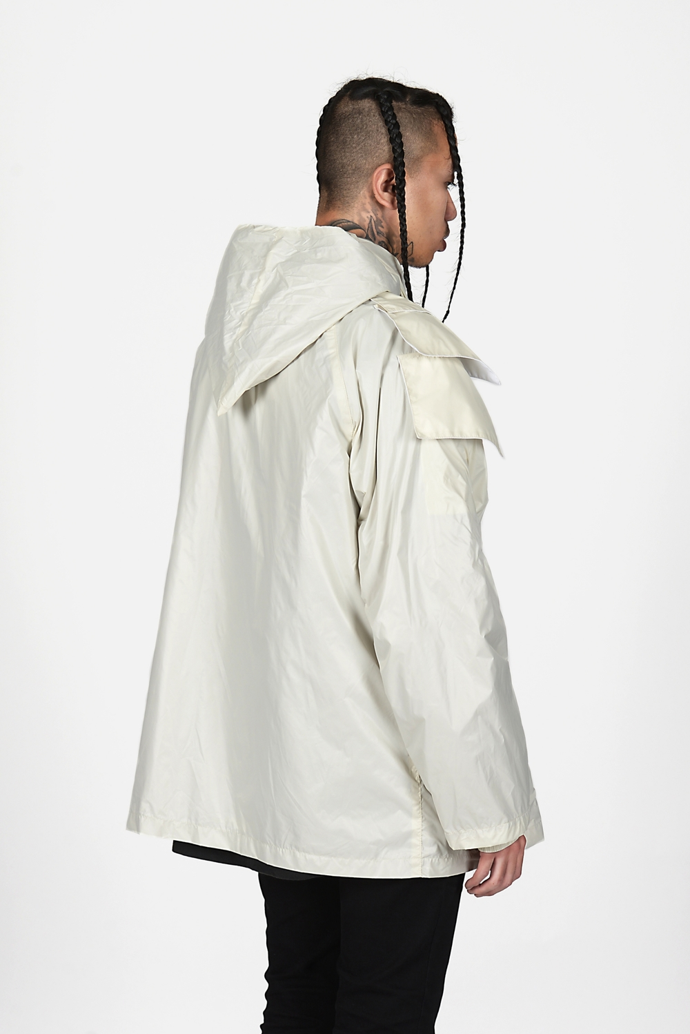 06 Heightened Sense white rain coat.jpg