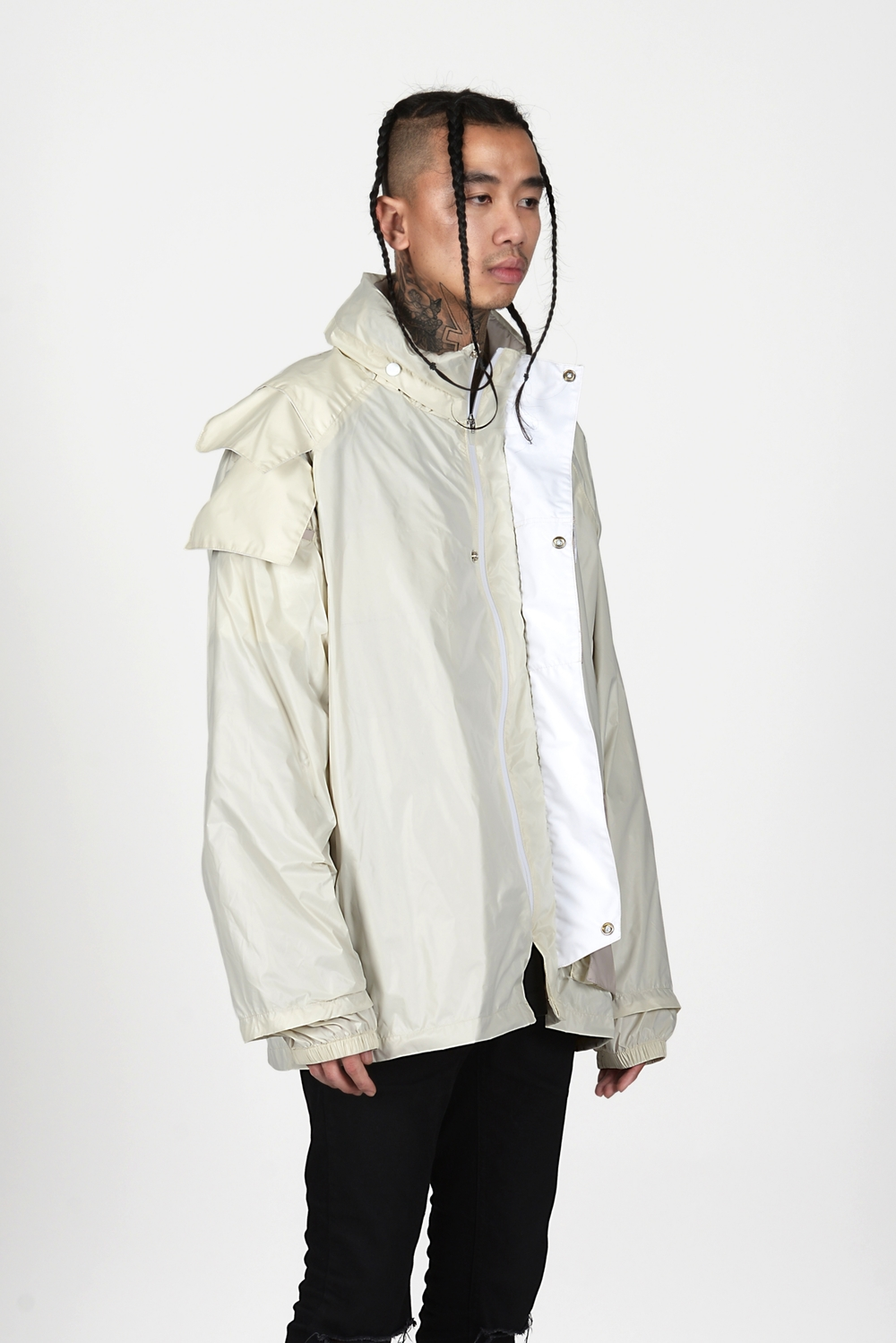 04 Heightened Sense white rain coat.jpg