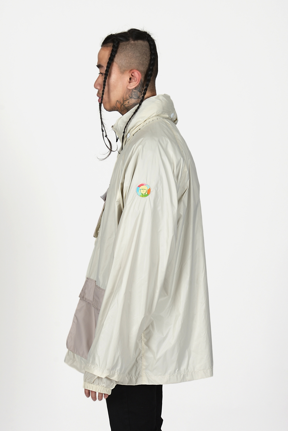 02 Heightened Sense white rain coat.jpg