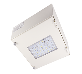 LED Surface Canopy Light   Application »Designed for surface mount luminaire. »Exterior Entrances / Hallways / Walls »Hard to service locations