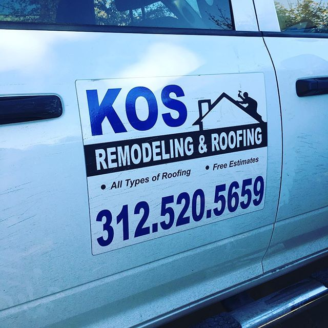 Spotted. Supporting local #chitown businesses #roofer #chicagoroofing #boss