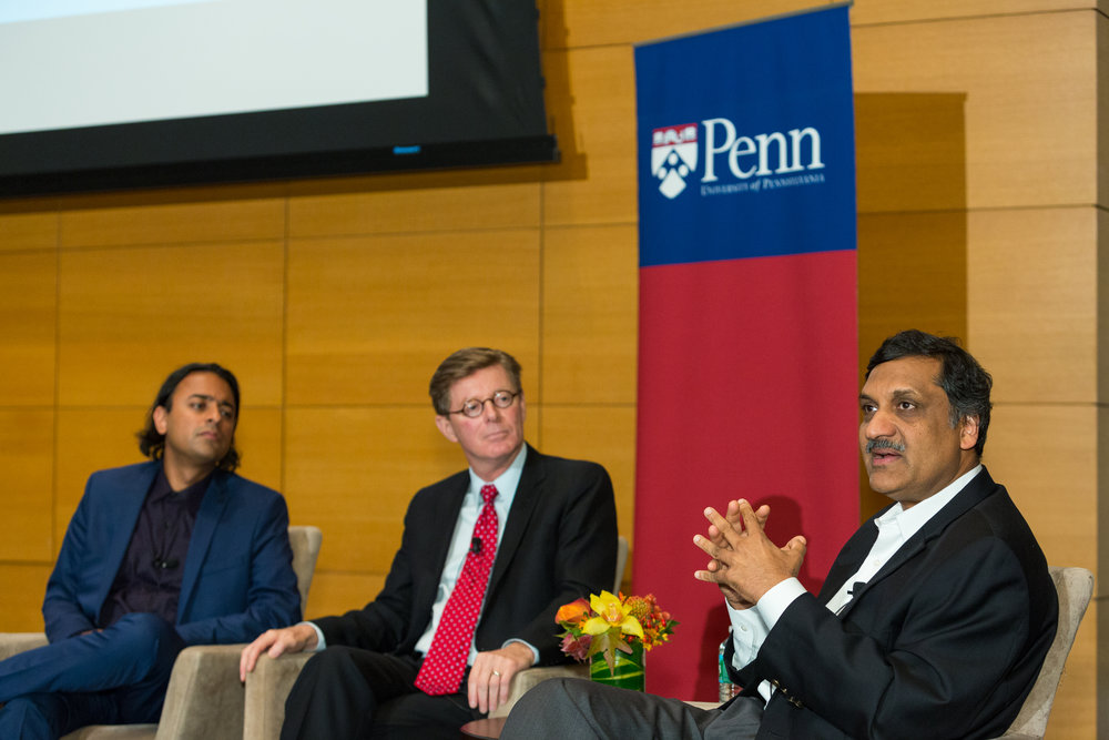 closing panel with anant agarwal, vincent price, and ajay kapur