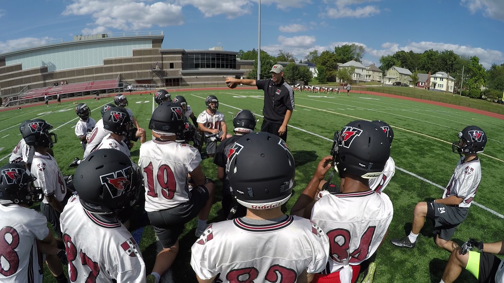About the Team - At Wesleyan, the student-athlete experience is one predicated on the balance between academics and athletics. Being a student first is stressed heavily in the program, and finding athletes that want to exceed both in the classroom and on the field provides a great window into the Division III football experience.