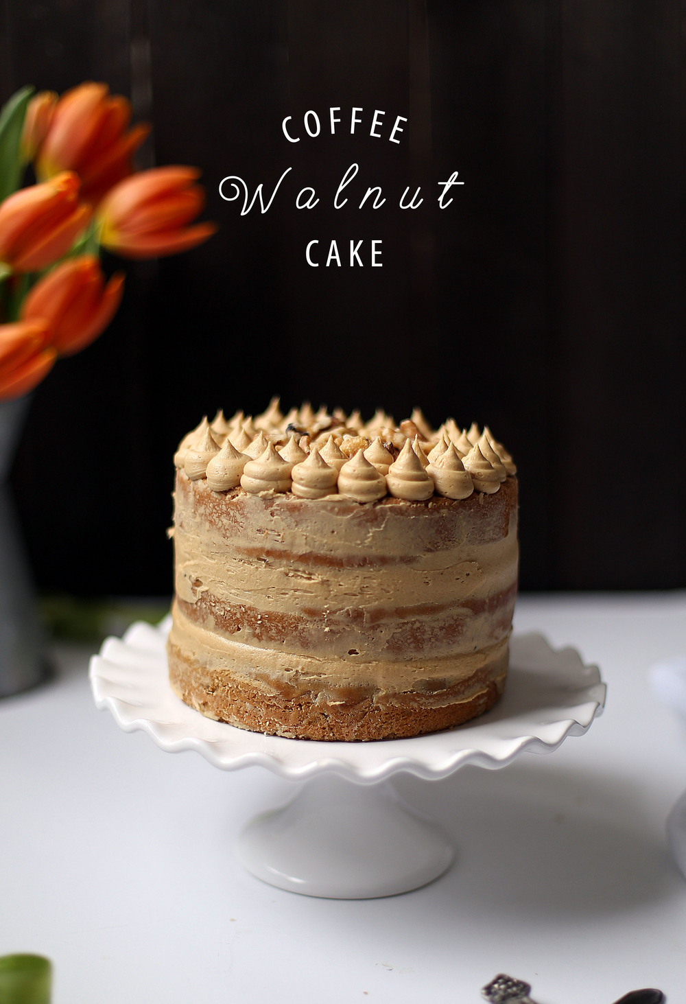 Coffee And Walnut Cake College Housewife