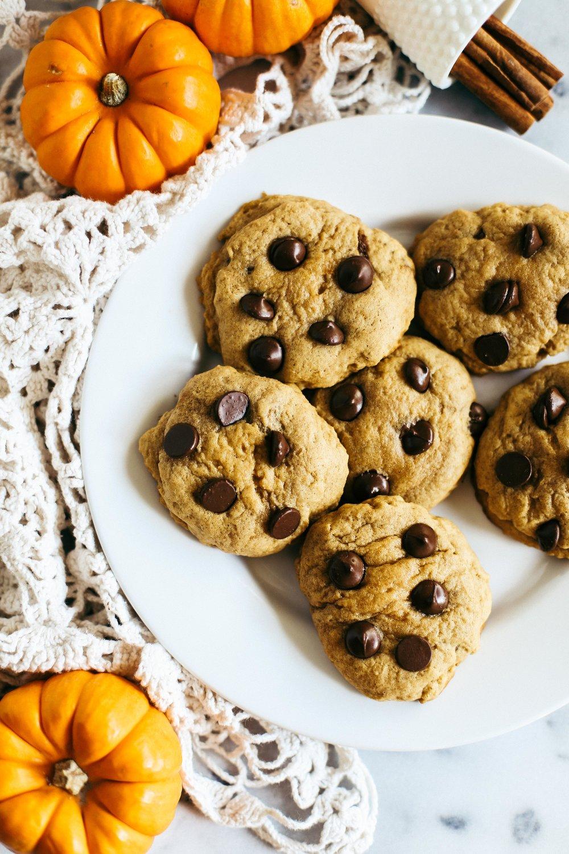 nutellafilledpumpkincookies