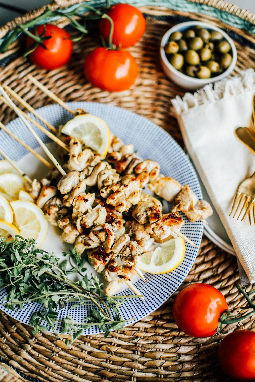 Lemon-Oregano Chicken Skewers pics