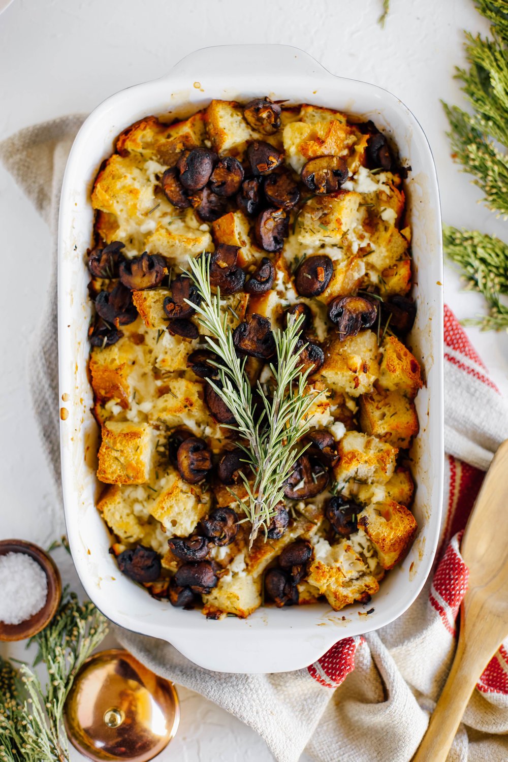 Brown Butter Mushroom and Goat Cheese Strata-12.jpg