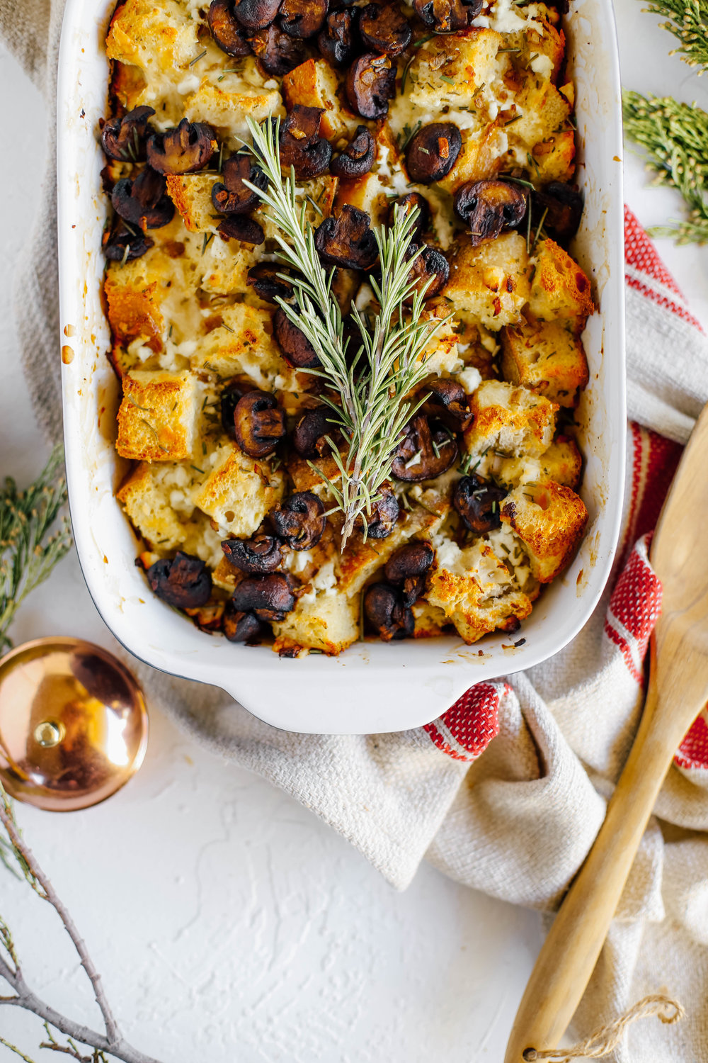 Brown Butter Mushroom and Goat Cheese Strata-10.jpg