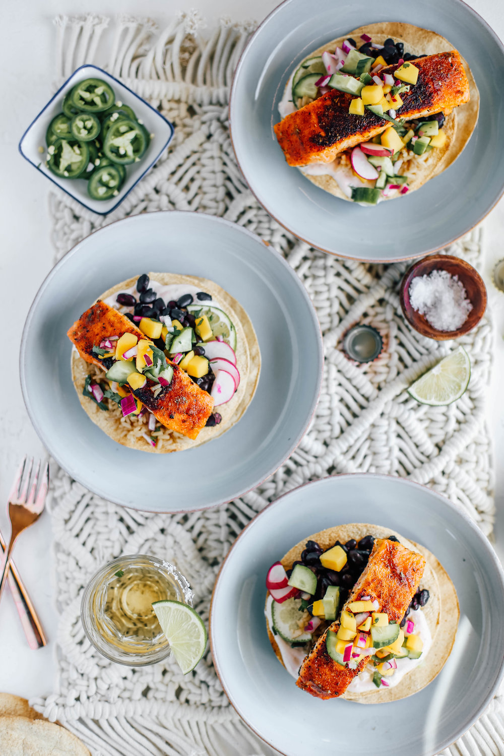 Blackened Salmon Tostadas with Cucumber Mango Salsa-5.jpg