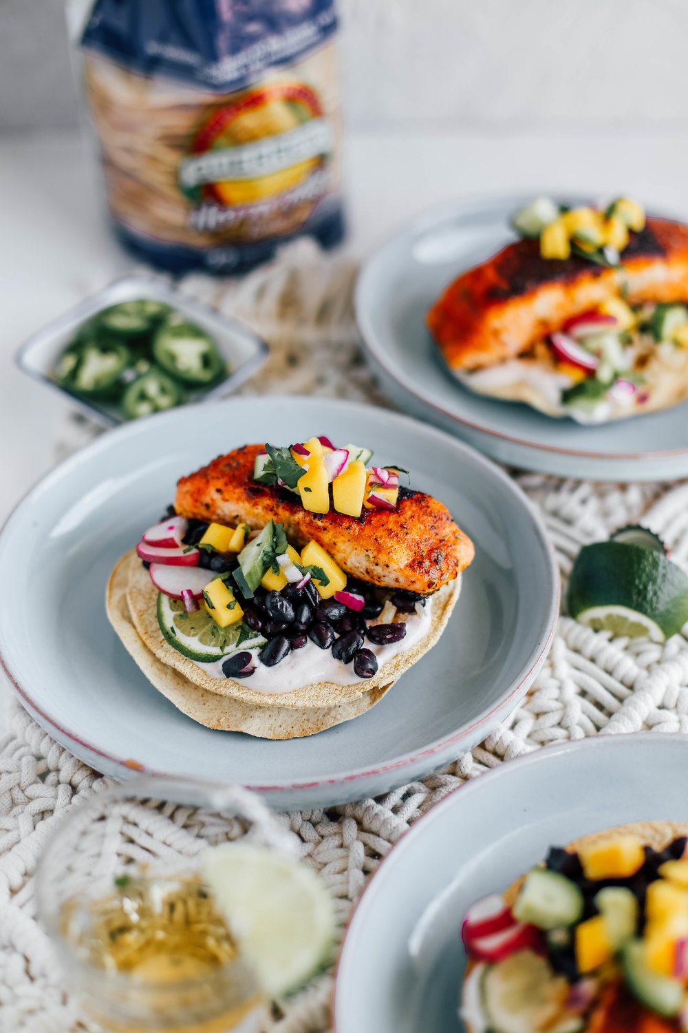 Blackened Salmon Tostadas with Cucumber Mango Salsa-9.jpg