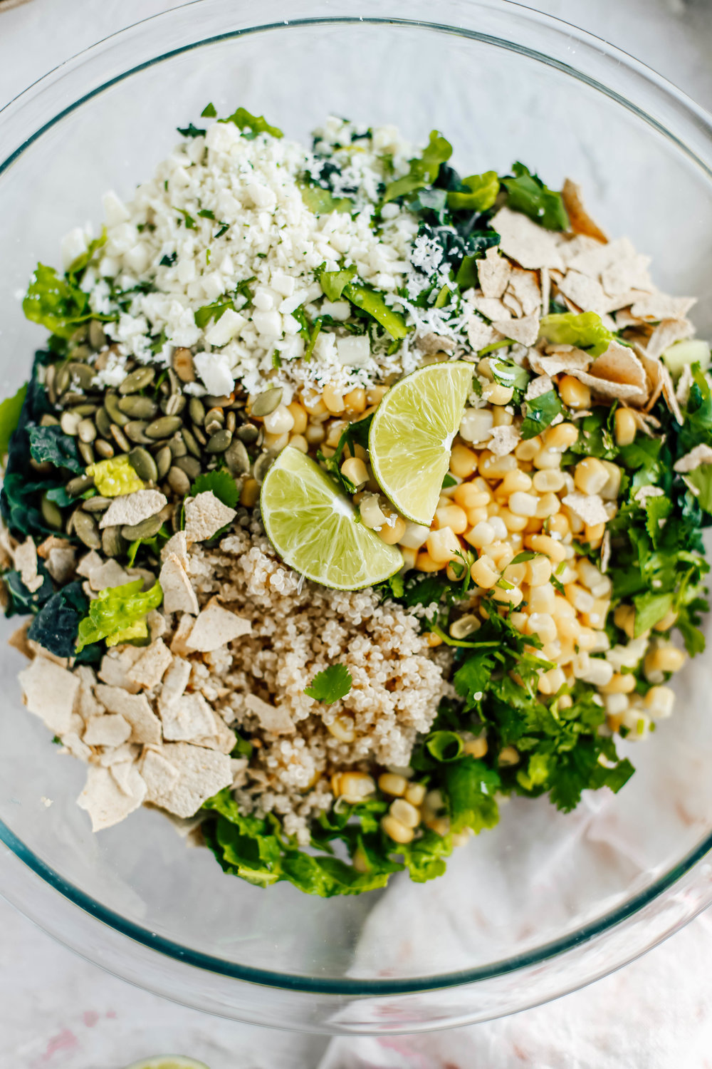 Golden Corn & Quinoa Mexican Caesar Salad with Blackened Salmon-6.jpg