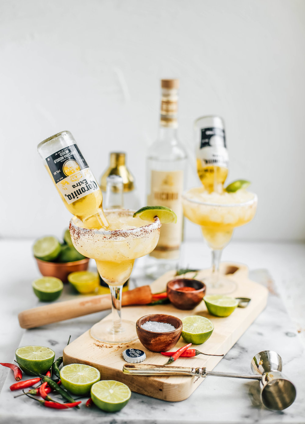 Lime & Chili Mezcal Beergaritas — College Housewife