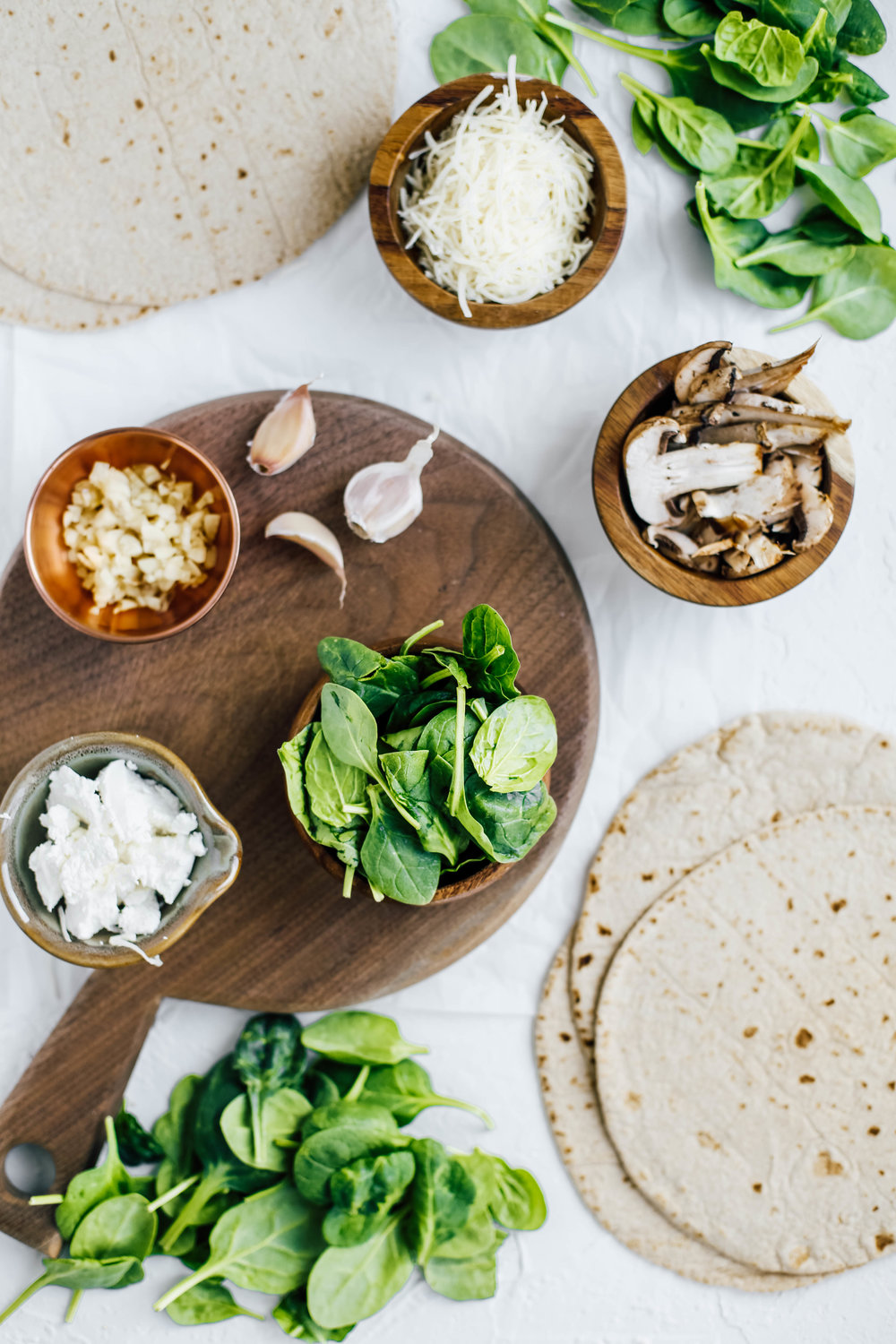 Caramelized Spinach & Mushroom Goat Cheese Quesadillas-1.jpg