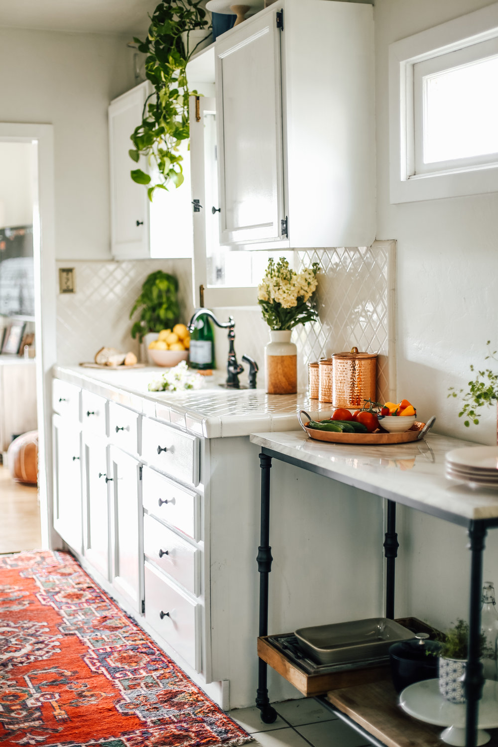 My Rental Kitchen: Finished Makeover, tips and ideas! — College ...