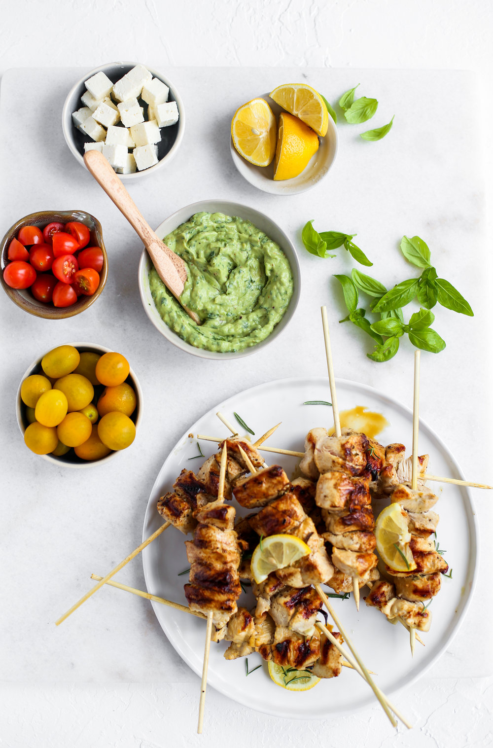 Lemon garlic chicken skewers with orzo and green goddess sauce-1.jpg
