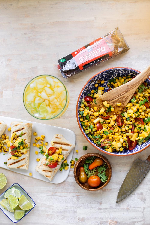 Fire Roasted Corn & Mango Salsa - Burrito-10.jpg