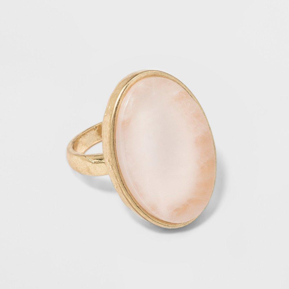 Semi-Precious Healing stone Ring