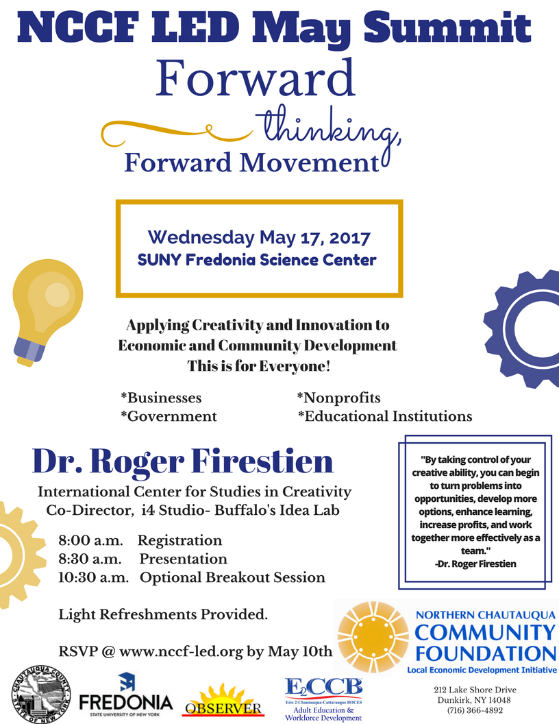 More on Speaker Dr. Roger Firestien -