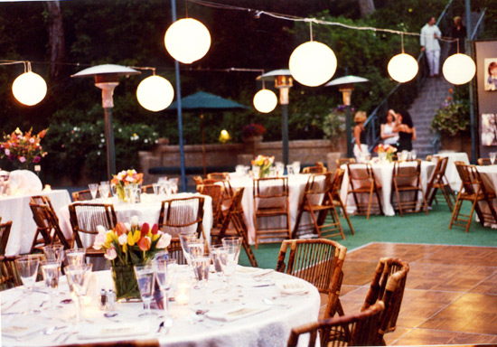 035. (ALBUM COVER) tennis court party, chinese lanterns, tulip centerpieces,.jpg