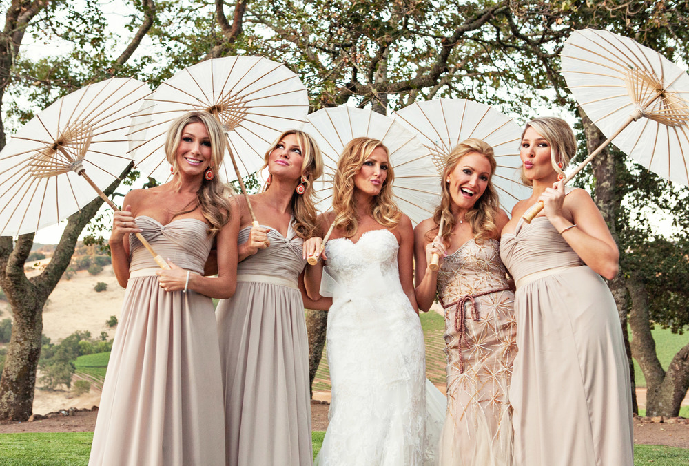 20. vineyard ceremony, summer wedding, wedding parasols, artsy bridesmaids+bride pictures.jpg